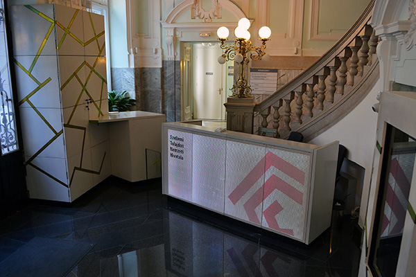 HIPO reception desk