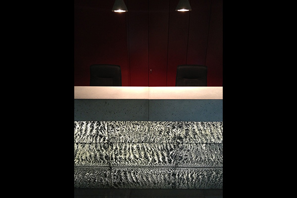 Holcim reception desk